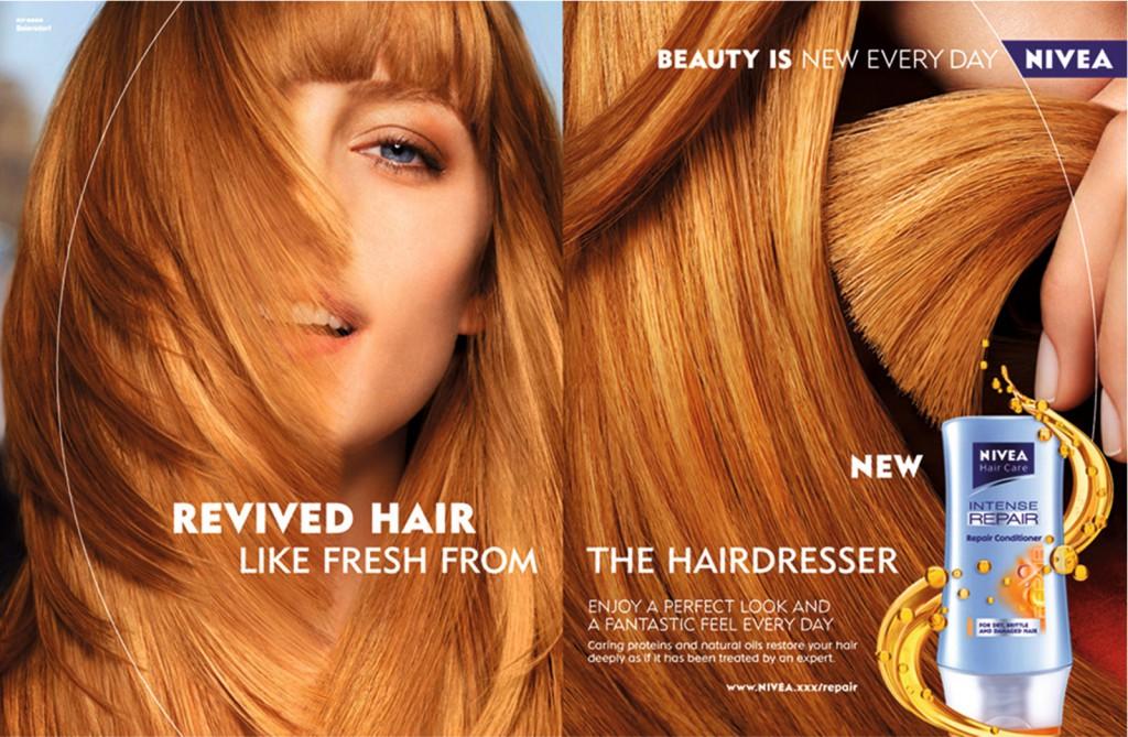 nivea hair shampoo campaign