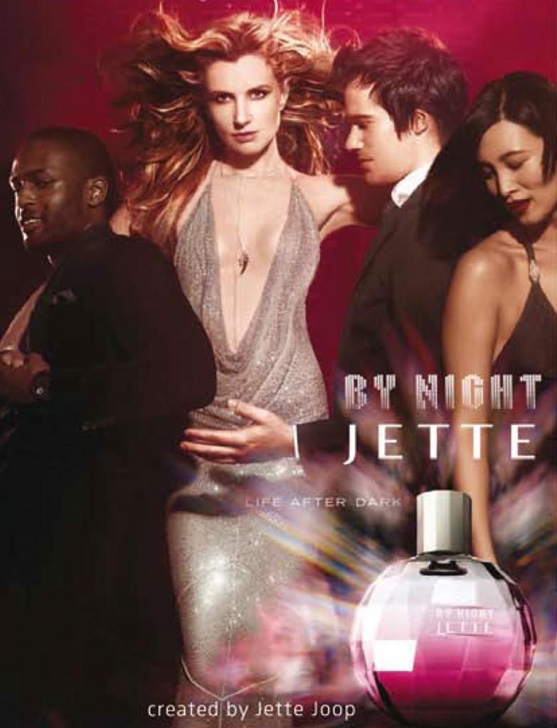 Jette joop fragrance campaign