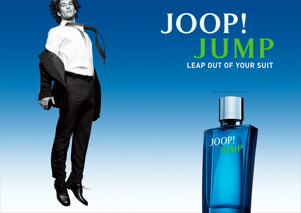 joop jump campaign