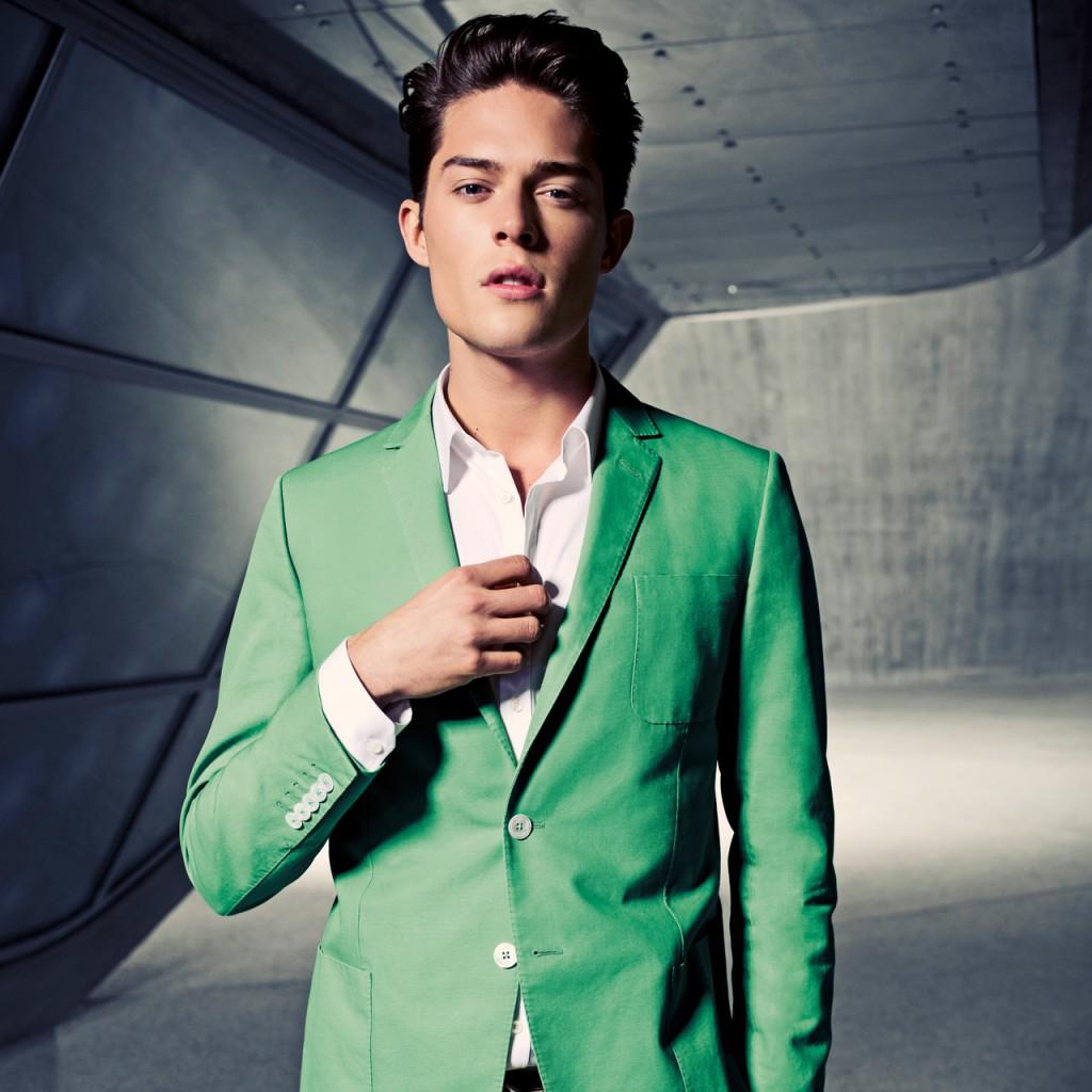 male model for engelhorn ontop for men